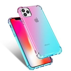 NEW iPhone 11/Pro/Max Clear Gradient Case